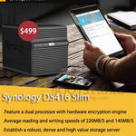 Memory World Synology DS416Slim NAS