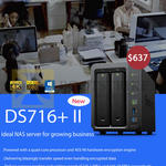 Synology NAS 716Plus II