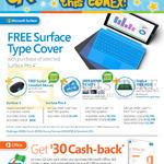 Surface Pro 4.0 Tablet, Office 365 Cashback