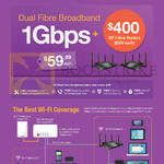 Fibre Broadband 59.99 1Gbps, Wi-Fi Coverage