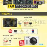 Nikon Digital Cameras 1 J5, AW1