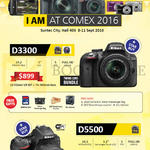 Digital Cameras DSLR D3300, D5500