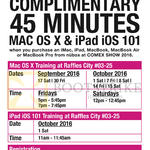 Apple Free Training 45 Mins MAC OS X, IPad IOS 101