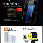 ie Jourdan NanoTech Tempered Glass Screen Protector, Mi Powerbank, NanoTech