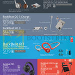 Headphones, Earphones, BackBeat SENSE, Go 3 Charge, FIT, PRO, Go2 Charge, Go2