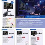 Samsung Monitors LED C24FG70FQEX, C32F391FWEX, C27F591FDEX, C24F390FHEX, C27F390FHEX