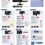 Samsung Monitors LED S22F350FHE, S24F350FHE, S27F350FHE, S24E390HL, S27D850T, S32D850T, U28E590DS, S24E370D, S27E370D, S32E590CS, S34E790CS