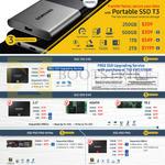 SSDs Portable SSD T3, SSD 750 EVO, 850 EVO, 950 PRO NVMe, 850 PRO, 120GB, 128GB, 250GB, 500GB, 512GB, 1TB, 2TB