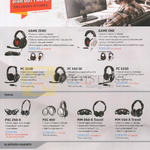 Headphones, Bluetooth Headsets, Game Zero, One, PC 323D, 350 SE, 333D, PXC 250-II, 450, MM 450-X Travel, 550-X Travel, EZX 60, 80, VMX 200-II
