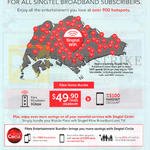 Singtel Fibre Home Bundle 49.90 1Gbps
