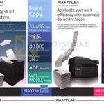 Pantum Printers P3500DW, M6550NW