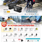 Action Cam, Accessories, HDR-AS50, MPK-UWH1, LCM-AKA1, AKA-HLP1, VCT-EXC1, RBM2, BLT-UHM1, AKA-CMH1, VCT-SCM1, STG1, AMP1, AKA-CAP1, DM1