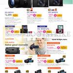 Digital Camcorders DSC-RX10 III, RX100 IV, III, HX90V, WX500, FDR-AXP55, AX100E, HDR-CX900E, PJ675, PJ410, CX405