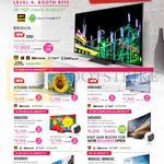 TVs Bravia Z9D, X7500D, X7000D, X8000D, X8500D, S8500D, X9300D, W850C, W800C