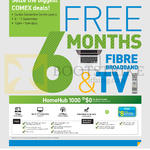 HomeHub 1000, Free 6 Months Fibre Broadband, TV