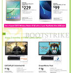 StarHub Mobile Broadband, TVs, Samsung Galaxy Tab S2 2016 8.0, Tab A 2016 10.1, Catchplay Unlimited HD, DreamWorks Pack