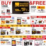 Strontium MicroSD Cards Nitro Plus, Nitro, Basic Range, Wireless Reader, Mobile Wifi Cloud