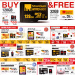 Strontium MicroSD Cards Nitro Plus, Nitro, Basic Range, Wireless Reader, Mobile Wifi Cloud