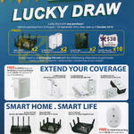 TP-Link Lucky Draw, Prizes, Redemption Details