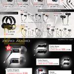 Treoo Audiofly Earphones AF120, AF140, AF160, AF180, AF33, AF78, AF56, AF45, AF240, Zero Audio, Carbo Basso, Singolo, Doppio, Duoza