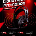 Video-Pro HyperX Cloud Headset