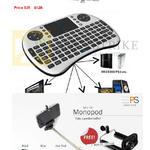 Worldwide Computer Android Rii Mini I8 Wireless Mini Keyboard