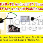 Worldwide Computer Micro USB DVB-T2 Android TV Tuner Receiver