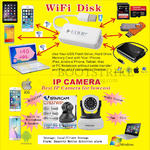 Worldwide Computer Wifi Disk, IP Camera
