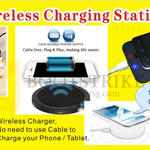 Worldwide Computer Wireless Charging Station