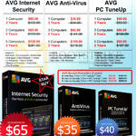 Zircom Networks AVG Internet Security, Anti-Virus, PC TuneUp, Bundle Promotions