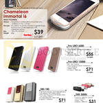 Portable Chargers, Chameleon Immortal I6, Trio-UBO 6000, 10000, SBS 100, DBS 3000L