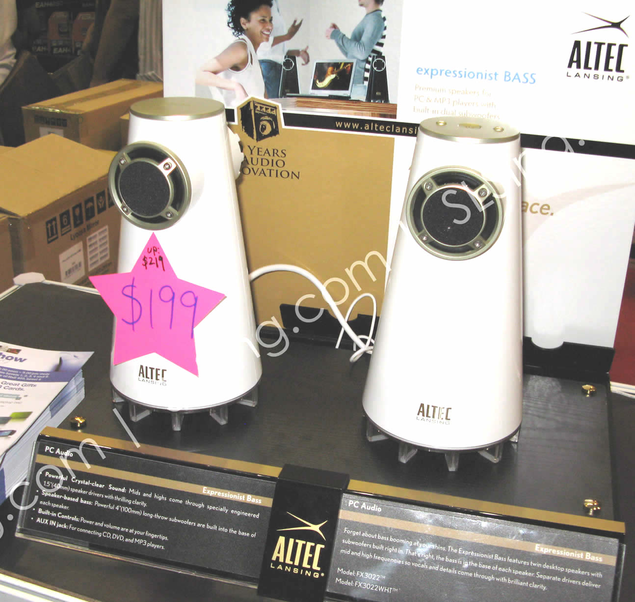 Altec Lansing (vr-zone Booest) IT SHOW 2009 Price List Brochure