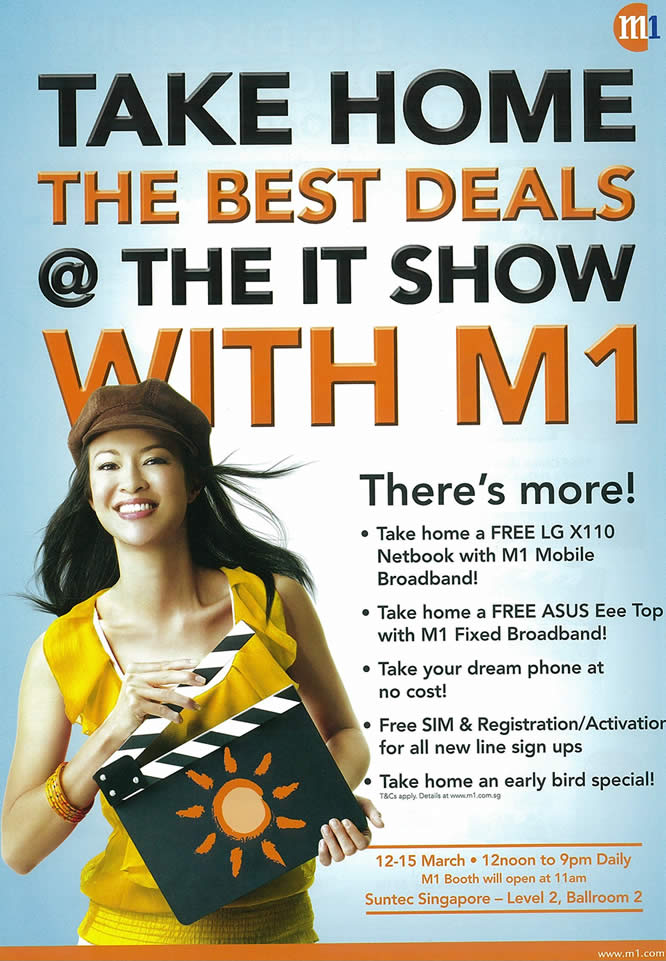IT Show 2009 price list image brochure of M1 Intro Tclong