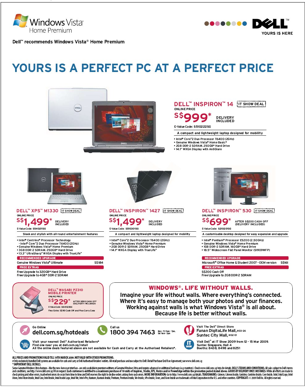 IT Show 2009 price list image brochure of Dell (coldfreeze)