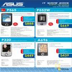 ASUS PDA Phones