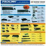 Prolink Wireless Keyboard Mouse ADSL Switches (tclong)