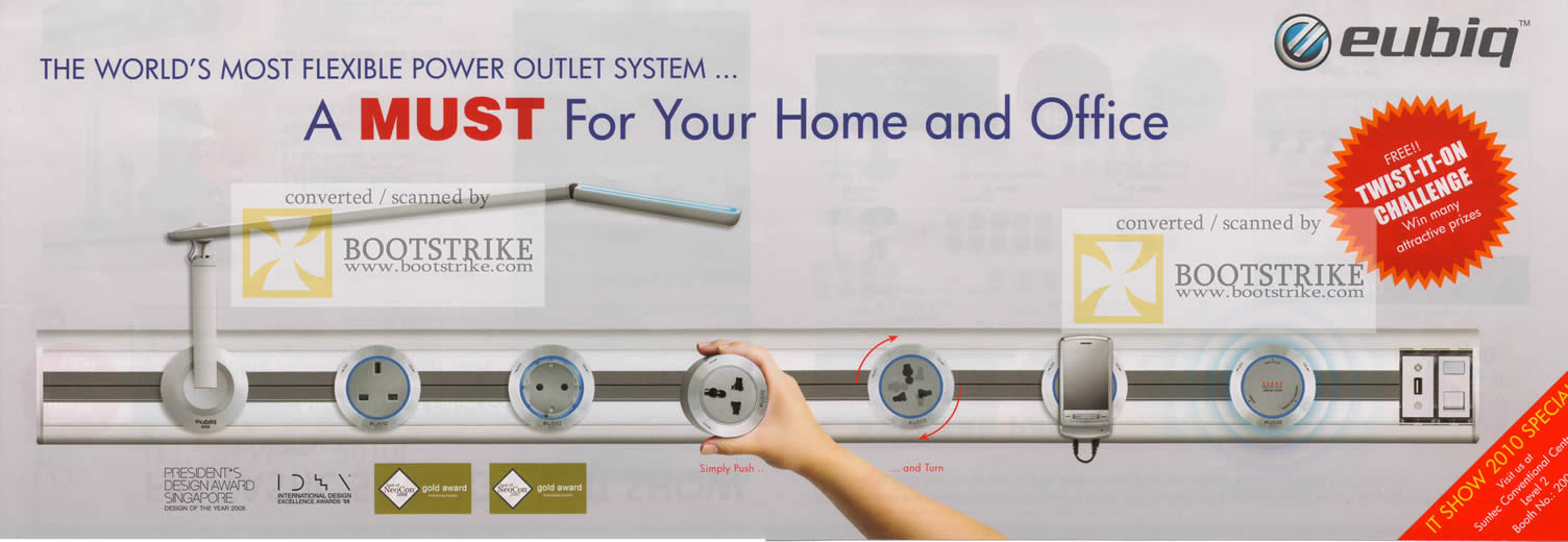 Flexible Power Outlet System Flexible Power Outlet