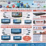 Palladine LCD TV Full HD Blu Ray PBD9000 PDV8000