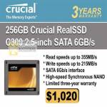 Systems Crucial Memory RealSSD SSD C300 Sata