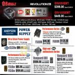 Systems Enermax Revolution Power Supply Andyson Vanguard G530w F500m F600m F550m F650w 880 1080