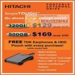 Systems Hitachi SimpleTOUGH External Storage Drive