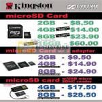 Systems Kingston MicroSD Memory Cards Card Reader
