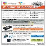 Systems Pinnacle PCTV Studio Movieboard Moviebox Video Transfer Hybrid Pro Stick 340e Nano Stick 73e