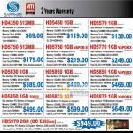 Systems Sapphire ATI Graphic Cards HD4350 HD5450 HD5570 HD5750 HD5770 HD5830 HD5850 HD5870 HD5970