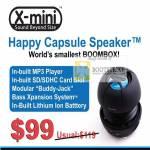 Systems X Mini Happy Capsule Speaker