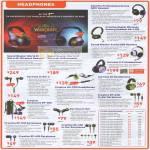 Creative Headphones Fatal1ty HS 1200 Sound Blaster World Of Warcraft USB Aurvana Earphones HS EP