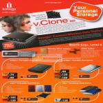 Iomega V Clone IConnect Wireless Data Station External Storage Drive Select Portable Prestige EGo Desktop