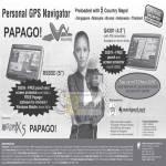 Papago Personal GPS Navigator R5800 Q4301