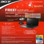Acer Aspire 4820T Notebook Broadband