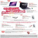Singnet Apple Macbook Acer Aspire 4820T Broadband Mobile